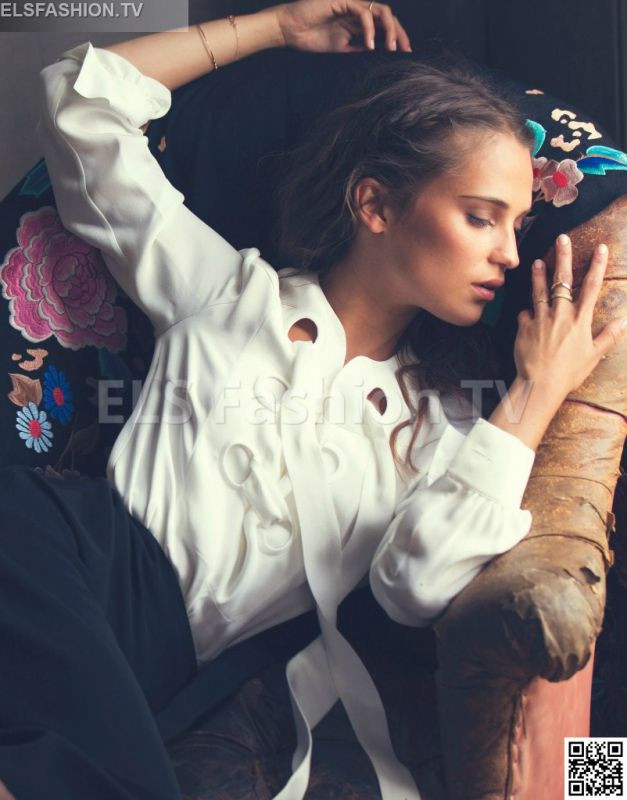 The Edit July 2015 - Model Alicia Vikander
