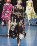 Dolce & Gabbana SS 2016 MFW access to view full gallery. #DolceandGabbana #MFW15